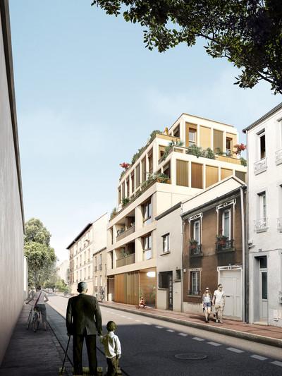 Entre rues et Jardins - Montreuil - © Architectes Singuliers