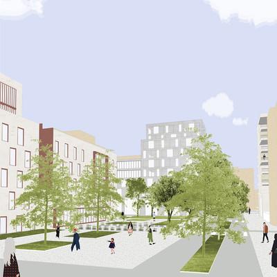 Études urbaines - © Architectes Singuliers