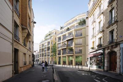 Bel-Air - Paris - © Architectes Singuliers